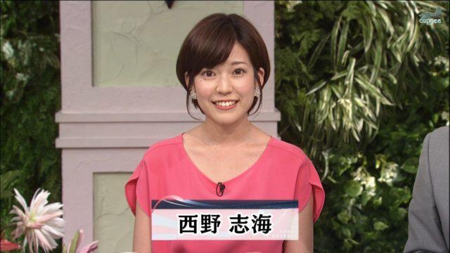 西野志海アナの結婚歴や歴代彼氏元カレは?顔画像や馴れ初め・噂を調査!