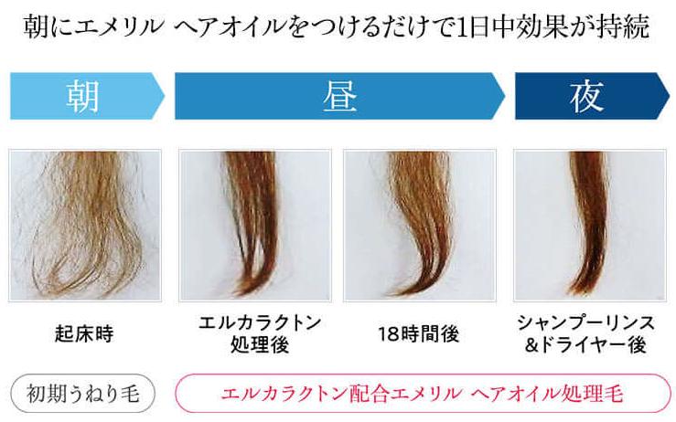 エメリルの成分を徹底解析!くせ毛やうねりに効果なし?